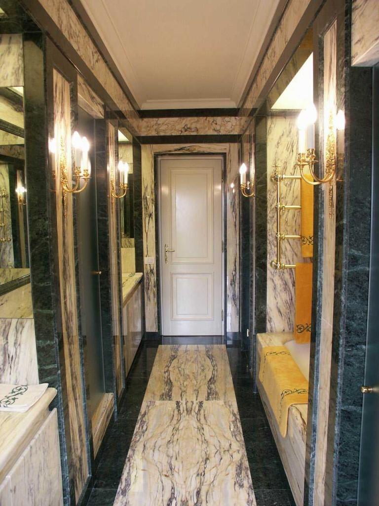 Rivestimento in marmo Cipollino Dorato e verde Guatemala