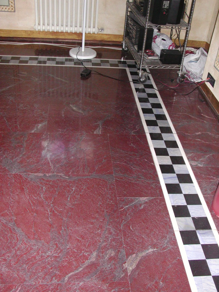 Pavimento in rosso Antalya