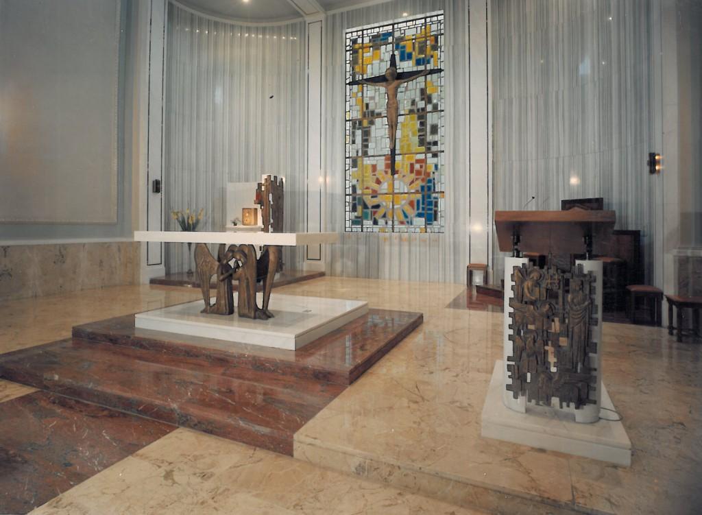 Chiesa di Borgaro Torinese Marmo rosso fiorito