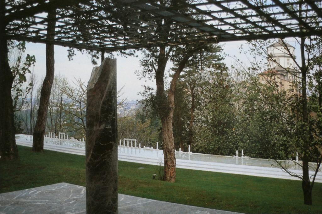 Anne & Patrick Poirier Jarden U.A. à Turin, 1995-97