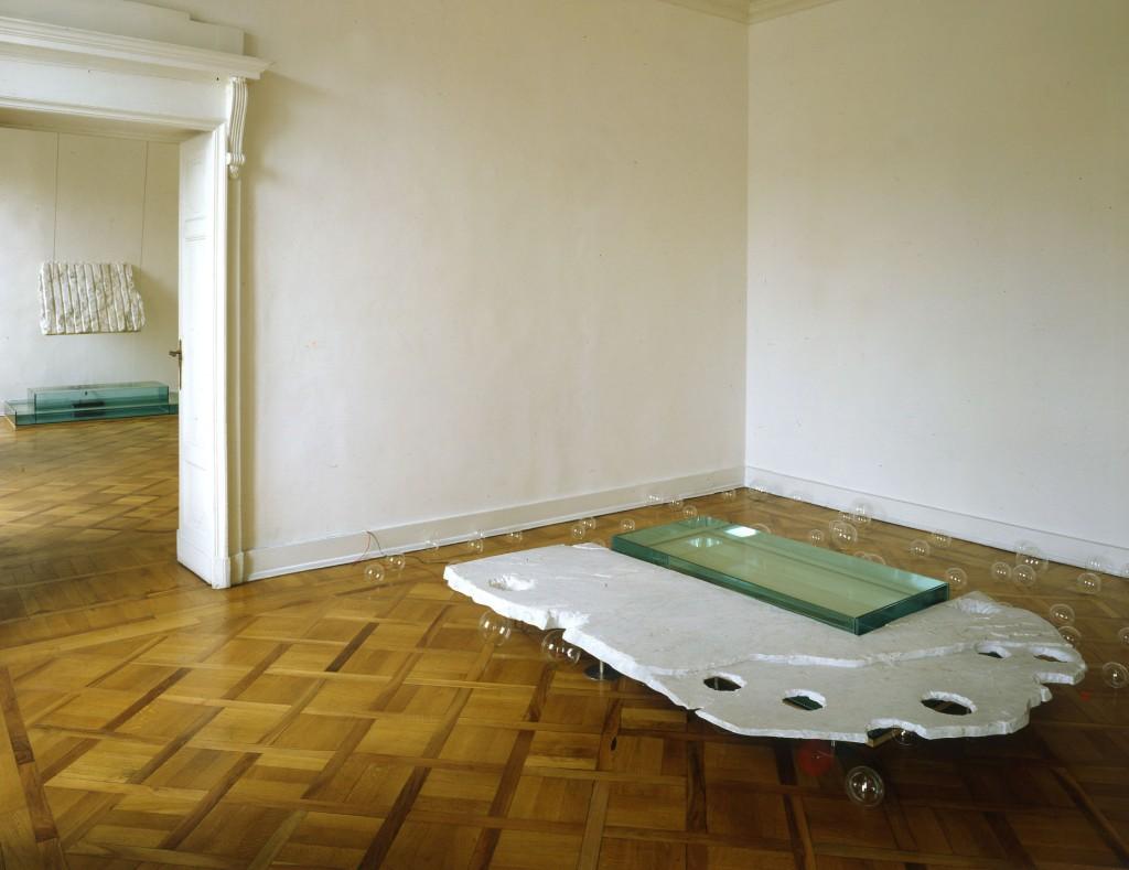 Per Barcley Senza titolo, Galleria Giorgio Persano 1990 marmo Bianco di Carrara