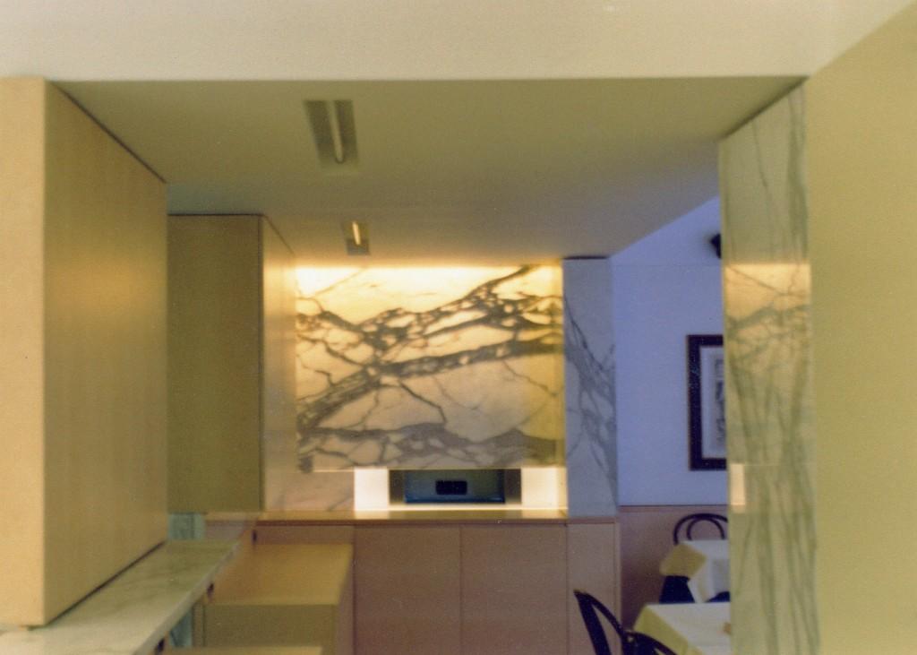 Rivestimento in marmo Calacatta classico
