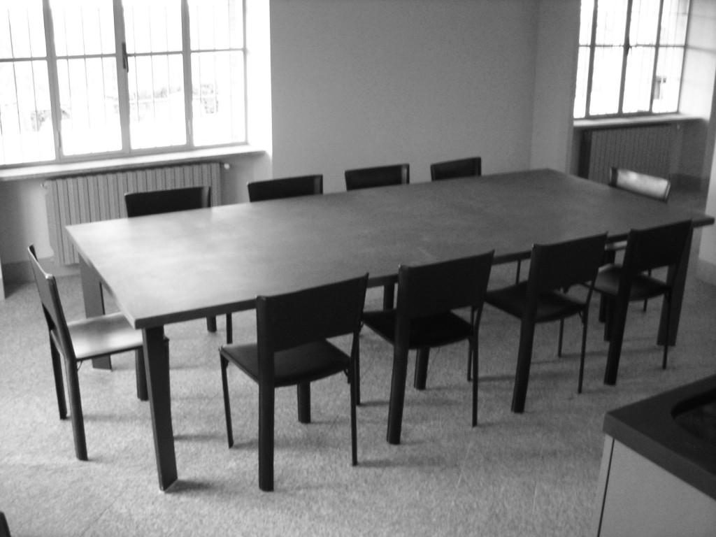 Piano per tavolo in granito nero assoluto Pavimento in pietra di Luserna