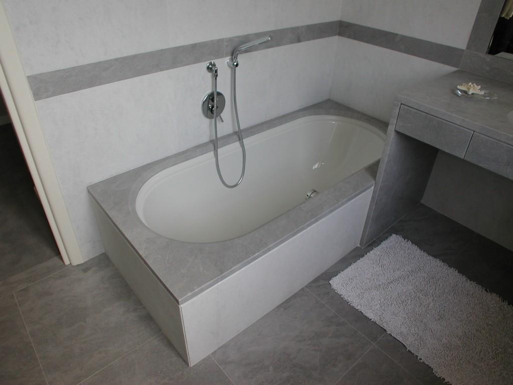 Mobile bagno in grigio Grimaldi