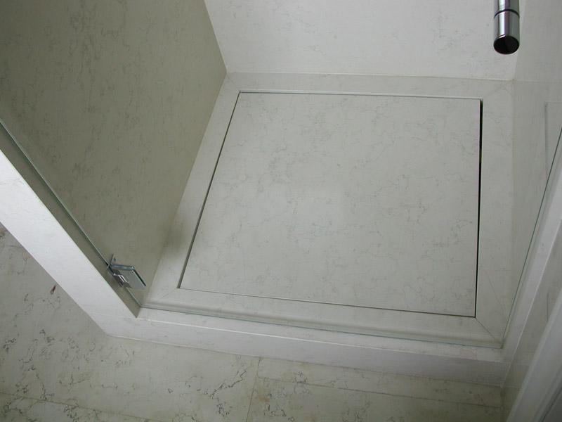 Piatto doccia in biancone di Asiago